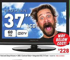 """Proscan 37"""" LCD TV Tv Tuner, Contrast, Pictures, Photos, Photo Illustration, Resim, Clip Art"""