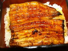 Unagi-no-kabayaki is a term used to refer to a Japanese cuisine that comes with broiled eel on top of rice.