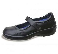 """Women's Biomechanical Mary Jane 9.5 - EXTRA WIDE by Aetrex. $99.00. New & improved SmartGrip polyurethane sole.. Unsurpassed comfort & protection.. Genuine leather upper.. 0.50"""" Removable hidden depth in 3 layers.. Soft linings with leather for maximum comfort & breathability.. Known for introducing many innovations for comfort, therapy and protection, Ambulators are recognized as the # 1 footwear line for people suffering from diabetes and arthritis. Ambulators h..."""