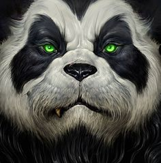 Concept Art for World of Warcraft: Mists of Pandaria Cinematic, Bernie Kang World Of Warcraft, Warcraft Art, Pandaren Monk, Po Kung Fu Panda, Arte Banksy, Creation Art, Panda Wallpapers, Panda Art, Heroes Of The Storm