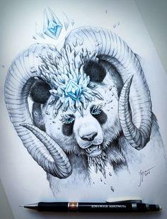 JoJoes Art | Panda