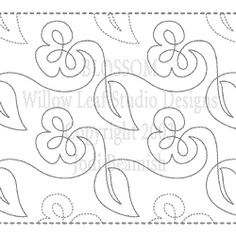 Continous Line Blossom by Quilts Complete