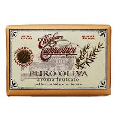Alighiero Campostrini Aroma Fruttato Puro Oliva, 150 Grams by Alighiero Campostrini. $8.50. Made in italy. 100% olive oil soap. Skin-softening and antioxidant-rich made with 100% olive oil. A skin-softening antioxidant-rich bar made with 100% olive oil. This old world recipe uses a traditional boiled process where only pure olive oil is used throughout the soap production.