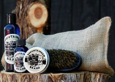 Perfect man gift! Complete Beard Care Kit from Mountaineer Brand