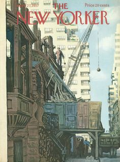 The New Yorker - Saturday, April 27, 1957 - Issue # 1680 - Vol. 33 - N° 10 - Cover by : Arthur Getz