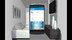 Internet das coisas - Simulação de uma aplicação controlando uma casa inteligente.