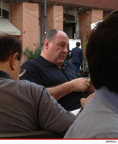 James Gandolfini died of a hearth attack while he was on vacation in Rome, Italy. He was 51 yrs. old. THIS is probably the LAST picture of James at Vitti restaurant in Rome.