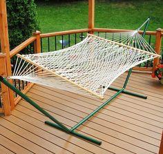 Algoma 11' Single Polyester Rope Hammock