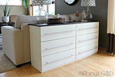 IKEA Hack: Wie aus deiner TARVA Kommode ein stylisches Sideboard wird | Ikea Hacks & Pimps | BLOG | New Swedish Design