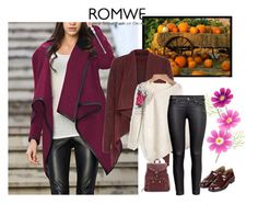 """Lovly autumn"" by minasalkicm ❤ liked on Polyvore featuring H&M and Topshop"
