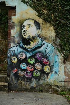 Brest - C215 - Christian Guemy | Flickr - Photo Sharing!