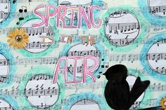 punk projects: Spring Mixed Media DIY