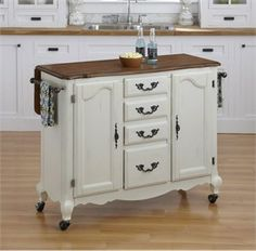French Country Kitchen Island.