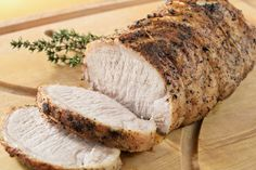 This honey mustard pork tenderloin recipe is an easy and flavorful main dish that your family will love. It uses only six ingredients. Mustard Pork Tenderloin, Slow Cooker Pork Tenderloin, Pork Tenderloin Recipes, Pork Loin, Pork Roast, Dinner Dishes, Food Dishes, Pork Ham, Pulled Pork Recipes