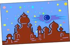 arabian skyline