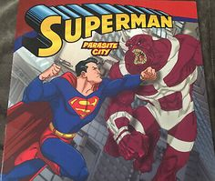 Man Of Steel Superman Classic Parasite City PB Lucy Rosen Steven Gordon Harper | eBay