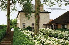 Interior designers Alain and Brigitte Garnier designed their historic Flemish estate of Vaucelleshof. The couple has their own line of furn...