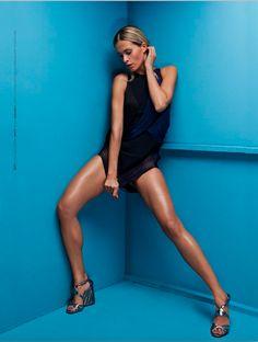 TopFashion, model: Petra Nemcova, photo: Anna Kovacic, styling: Milena Zhuravlova