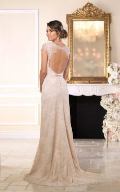 Favorite!  6043 Vintage Inspired Wedding Dresses by Stella York