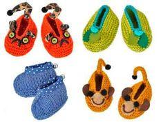Tricot: Chaussons douillets pour petits petons - Tricot - Enfant.com