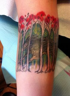 by Brittany at Black & Blue Tattoo, SF    (I LOVE this tattoo and I'm not even sure why. It's just amazingly gorgeous)