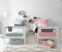 Candy Colors para o quarto das crianças. Mais dicas no blog!