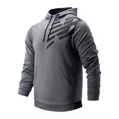 New Balance Hombre Tenacity Camiseta T-shirt Top Gris Deporte Gimnasio Correr