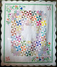 applique quilt nicely done