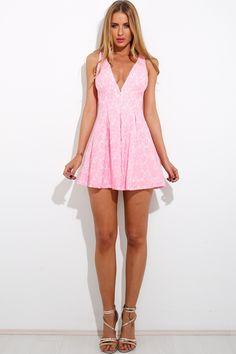 HelloMolly   Baby Doll Dress Pink