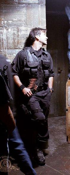 Colonel John Sheppard, my favorite character of SGA. ♥