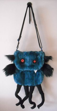 Sydney the Undead Tentacled Monster purse by TravelingMonsterShop, $65.00