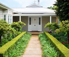 Low Maintenance Front Garden Ideas Nz With Small Full Me Country, - modern front yard landscaping ideas Garden Ideas Nz, Garden Design Ideas On A Budget, Easy Garden, Yard Ideas, Walkway Ideas, Front Entry Landscaping, Backyard Landscaping, Landscaping Ideas, Front Walkway