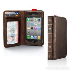 Iphone case that looks like a book