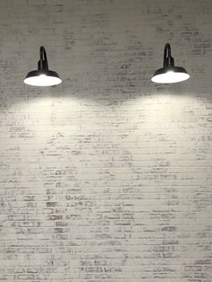 The Little Burlap Barn ( White Wash Walls, White Wash Brick, Faux Brick Walls, Brick Paneling, Barn Lighting, Farmhouse Lighting, Tudor Homes, Wall Lights, Ceiling Lights