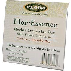 Flora, Flor·Essence, Herb Extraction Bag, 1 Bag - iHerb.com