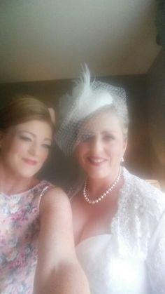 My sis and my bridesmaid