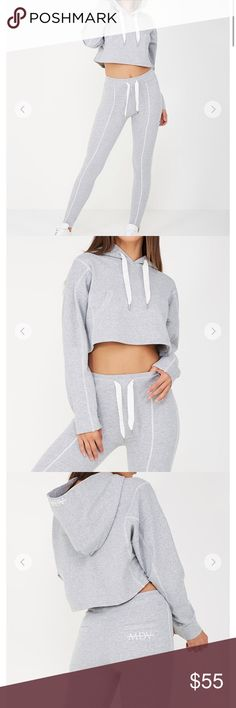 Grey cropped hoodie & leggings Fabric is soft warm and amazing!! No defects or flaws. I do not really want to sell these but I could really use the money. Brand for exposure, Urban Outfitters Other
