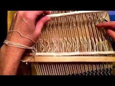 4 Shaft Weaving on a Rigid Heddle Loom