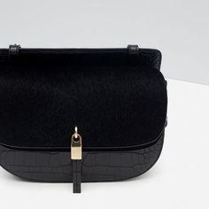 Image 4 of MOCK CROC MESSENGER BAG from Zara