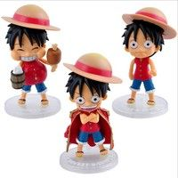 Anime Q Version One Piece Luffy