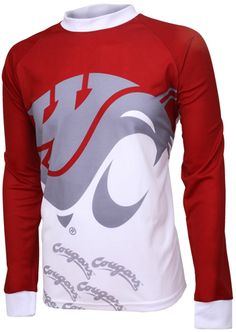 COUG FANS taunt your opponents as you hit the trails or head to the bleachers to REPRESENT WHILE YOU PLAY in this officially licensed garment from Adrenaline Promotions. Mountain Bike Jerseys, Mountain Biking, Cycling Jerseys, Cycling Bikes, Cannondale Mountain Bikes, Jersey Boys, Bike Seat, Cycling Outfit, Online Work