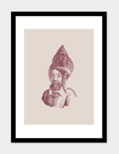 """""""Haute Coiffure /#5"""", Numbered Edition Fine Art Print by Jacques Maes - From $39.00 - Curioos"""