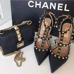 Image de fashion, shoes, and bag