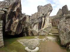 Condor Temple in Machu Picchu