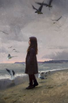 Thoughts of Summer oil on linen 41 X 27 inches Jeremy Lipking at Arcadia Contemporary NYC December 12 - 31 Figure Painting, Painting & Drawing, Nyc In December, Grand Art, California Art, Art Moderne, Art Graphique, Beach Art, Art Plastique