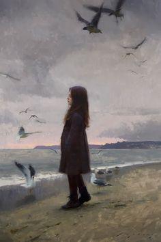 "fleurdulys: ""Thoughts of Summer - Jeremy Lipking """