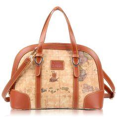 B Angel Women Map Design Casual Handbag - New Arrivals- - TopBuy.com.au