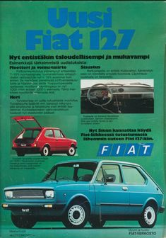 Fiat Abarth, Car Advertising, Teenage Years, Old Toys, Cars And Motorcycles, Automobile, Nostalgia, Childhood, Retro