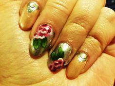 www.berylli.fi #nail #art #nailart #rose #ruusu #kynnet #kynsikoristelu #romantic #romanttinen #valentine #ystävänpäivä #kauneus #muoti