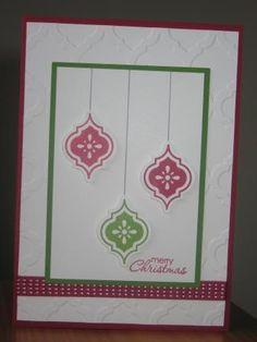 Mosaic Madness Christmas Card